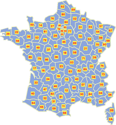 Départements français