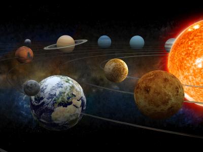 Périodes de révolution dans le système solaire