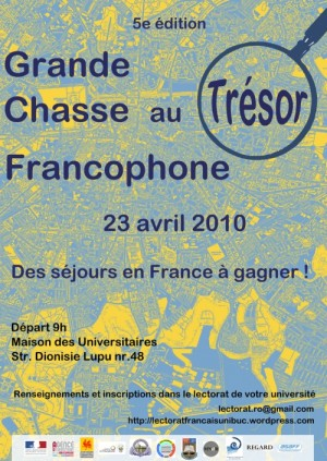 Chasse au trésor francophone à Bucarest