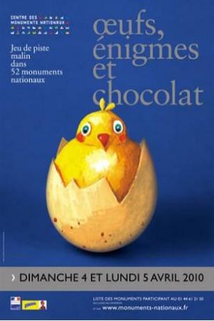 Oeufs, énigmes et chocolat