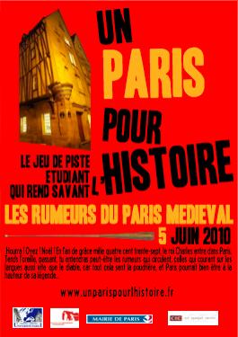 Un Paris pour l'Histoire : Les rumeurs du Paris médiéval