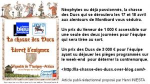 Chasse des Ducs - Chasse au trésor - 2010