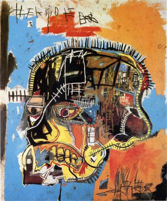 Sans titre (head) - 1981 - Jean Michel Basquiat