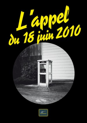 L'appel du 18 juin 2010