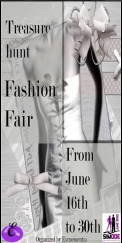 Fashion Fair Treasure Hunt