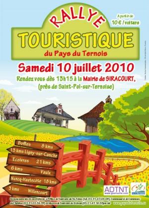 Rallye touristique du Pays du Ternois