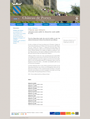Chateau de Portes - Chasse au trésor