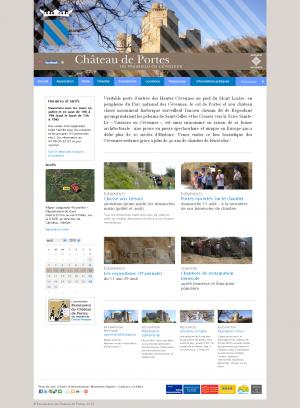 Chasse au trésor au Château de Portes, dans le Gard
