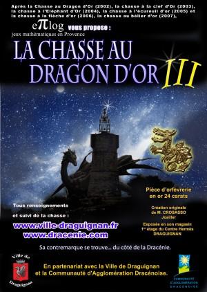 Le dragon d'or - Chasse au trésor