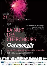 Nuit des Chercheurs - Océanopolis - Brest