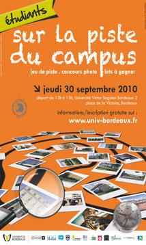 Sur la piste du Campus - Bordeaux