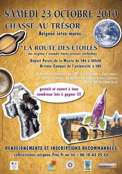 La route des étoiles - Chasse au trésor à Avignon