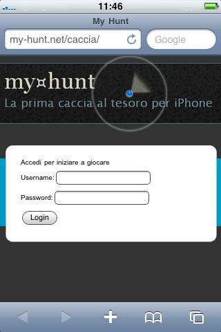 my hunt Roma smartphone