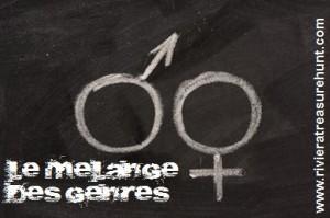 Le mélange des genres - Chasse au trésor