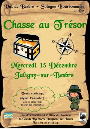 Chasse au trésor à Jaligny sur Besbre