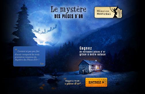 Mission Montreal - Le mystère des pièces d'or