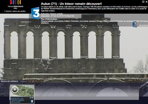 Trésor romain à Autun