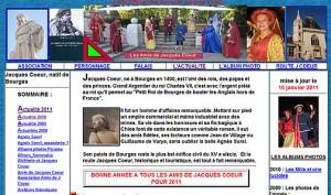 Les Amis de Jacques Coeur - Le site
