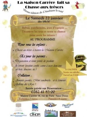 Chasse aux trésors pour les enfants à Saint Denis - La réunion
