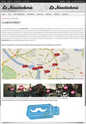 La Moustreet - Dead Drops à Toulouse