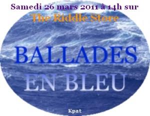 Ballades en bleu - Chasse au trésor