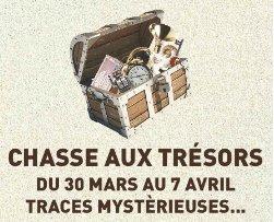 Chasse aux trésors - Traces mystérieuses - Meylan