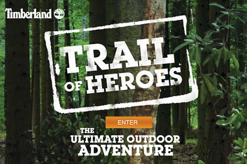 Une chasse aux trésors Timberland & Geocaching