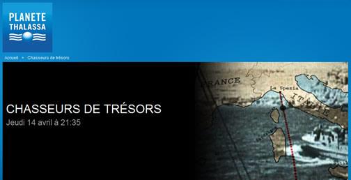 Chasseurs de trésors sur Planète Thalassa