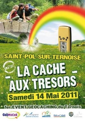 Chasse aux trésors GPS à Saint Paul sur Ternoise