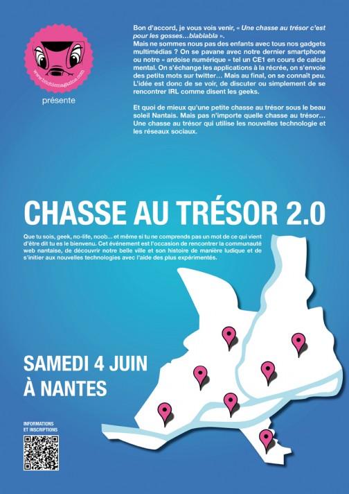 Chasse au trésor 2.0 à Nantes
