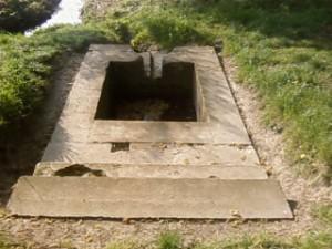 Fontaine - Contremarque de la zone A découverte