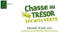 Aix en Provence - Chasse au trésor Lez'Arts Verts