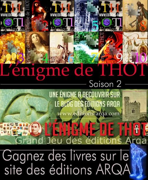 L'Enigme de THOT - Saison 2