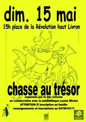Chasse au trésor à Livron sur Drôme