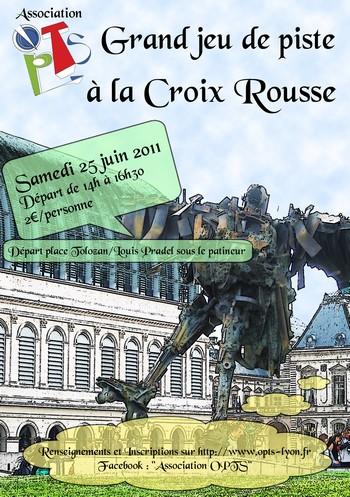 Lyon - Jeu de Piste à la Croix-Rousse