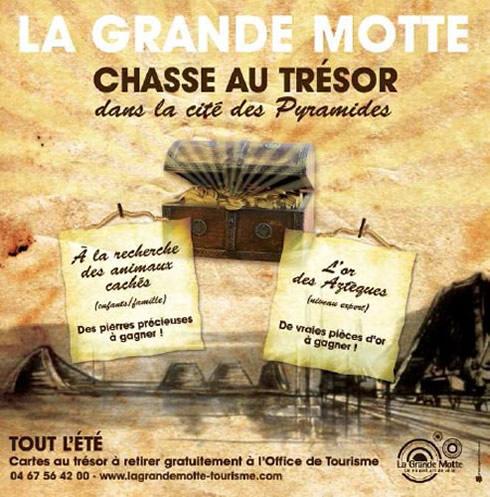 La Grande Motte - Chasse au trésor dans la cité des Pyramides