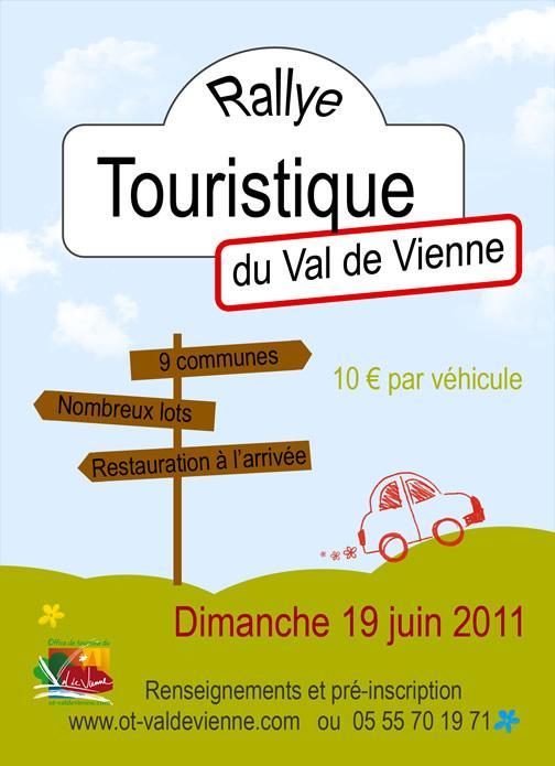 1er Rallye Touristique en Val de Vienne