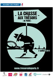 La chasse aux trésor de Paris 2011
