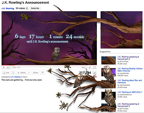 Pottermore - Coming soon