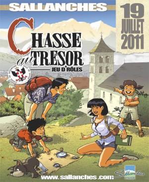Chasse au trésor - Sallanches
