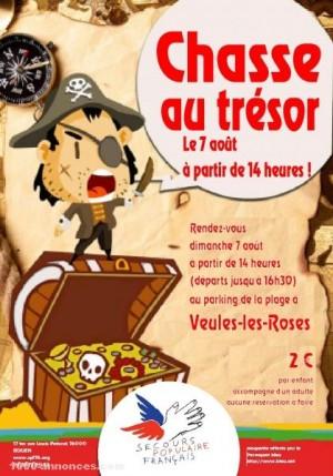 La chasse au trésor du Secours Populaire Français