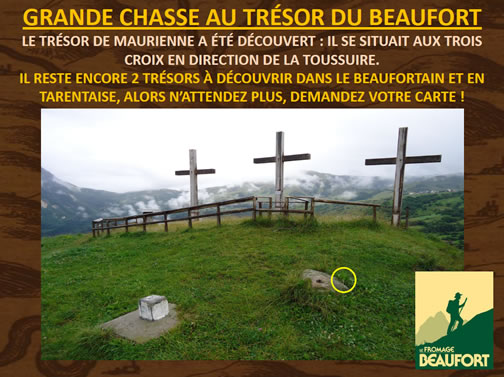 Le trésor caché dans la Vallée de la Maurienne est découvert - Trésor des Alpages