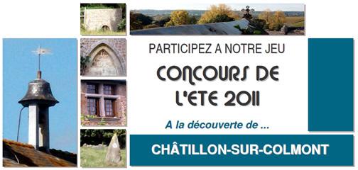 Concours de l'été 2011 - Châtillon-sur-Colmont