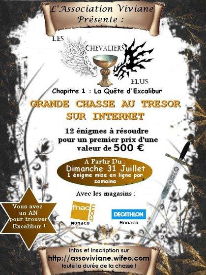 Les Chevaliers Elus - La Quête d'Excalibur