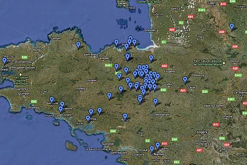 Une météorite en Bretagne