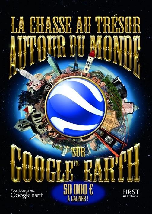 Chasse au trésor sur Google Earth
