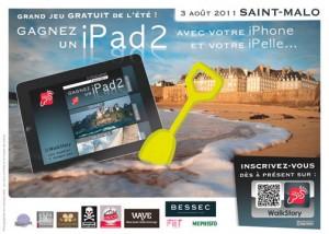 Chasse au trésor iPhone à Saint Malo