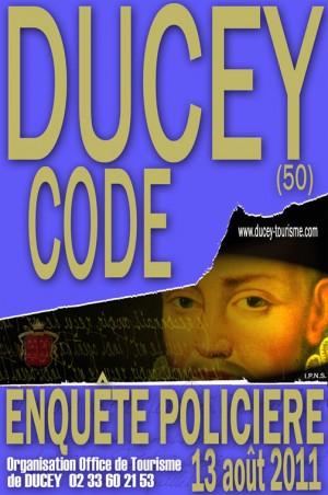 Ducey Code : enquête policière ludique dans la Manche