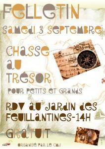 Chasse au trésor à Felletin - Creuse