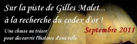Sur la piste de Gilles Mallet à la recherche du codex d'or